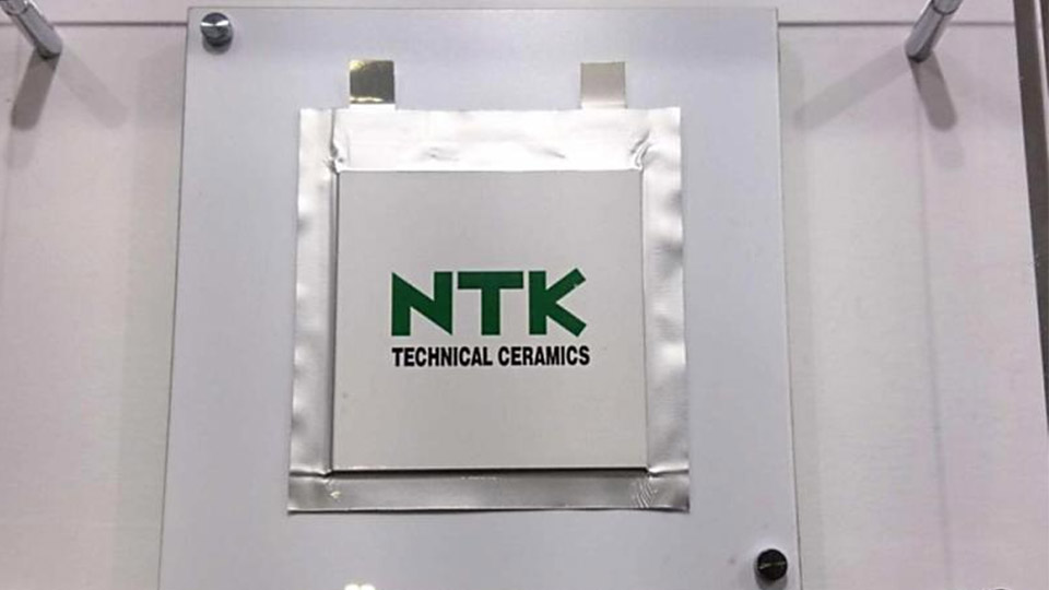 NTK Develops All Solid State Battery