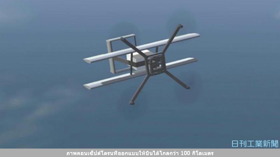 "1810110058-00 Aeronext Fixed-wing drone ""NEXT VTOL"""