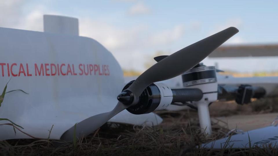 Unicef Drone