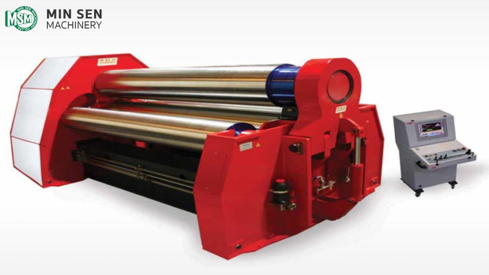 DAVI MCB Series - Plate Roll Machine - 4 Roll