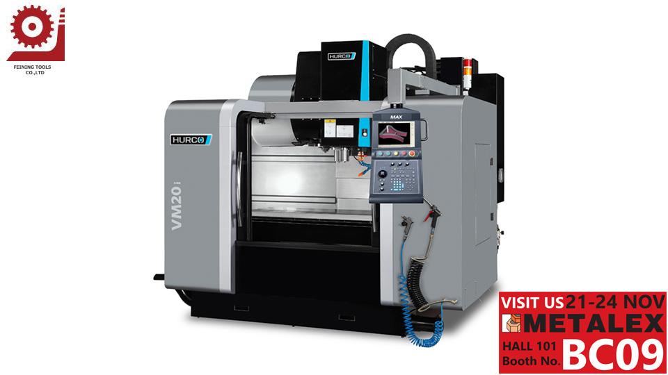 CNC แมชชีนนิ่งเซ็นเตอร์ HURCO VM20i โดย Feining Tools