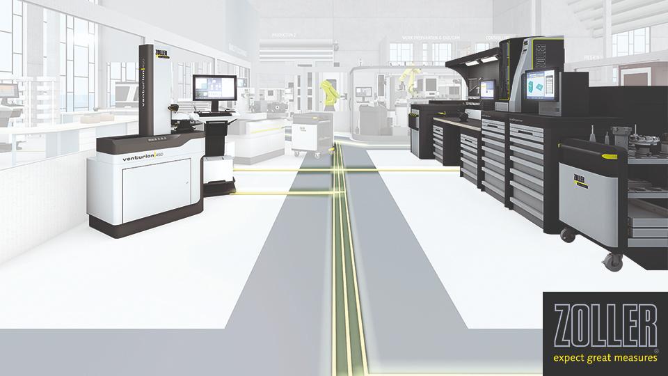 เชื่อมต่อเครื่องจักรกลและเครื่องมือในงานแมชชีนนิ่ง ยุคอุตสาหกรรม 4.0 ด้วยเทคโนโลยีจาก ZOLLER