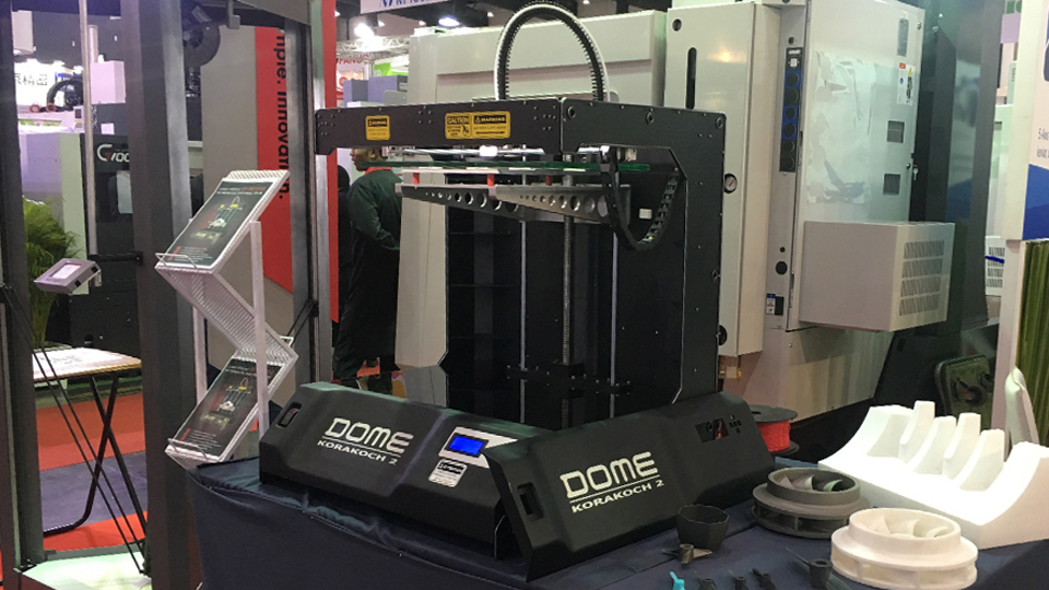 3D printer Thailand เครื่องพิมพ์ 3 มิติ DOME KARAKOCH2 พิมพ์งานขนาดใหญ่ เกรดอุตสาหกรรม