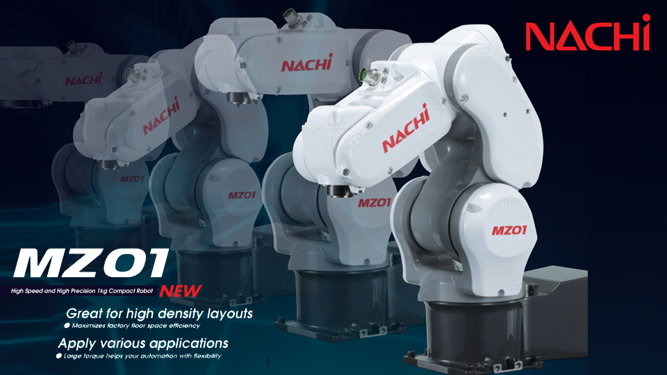 NACHI-MZ01 High Speed and High Precision 1kg Compact Robot