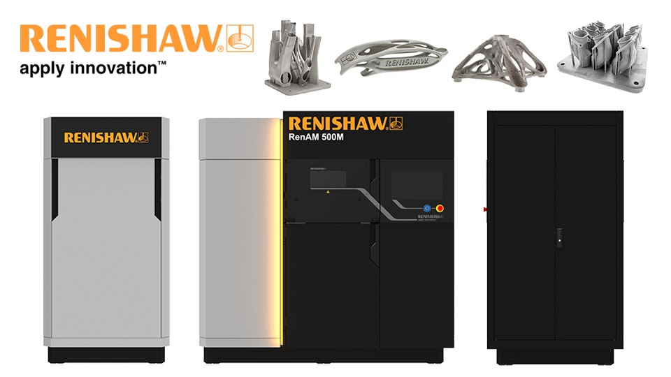 RenAM 500M - Metal Additive Manufacturing (Metal 3D printing) for industrial applications
