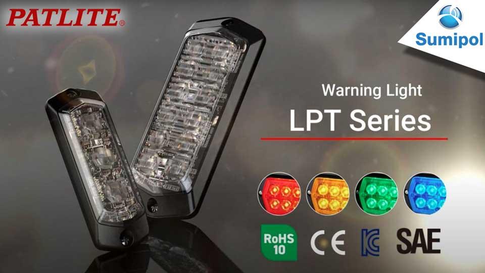 ไฟสัญญาณเตือน LPT series จาก PATLITE จัดจำหน่ายโดย Sumipol