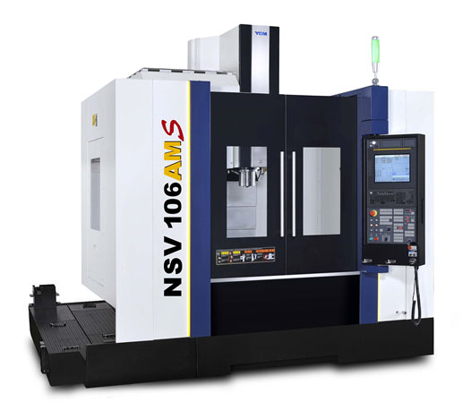 YCM Vertical Machining Center NSV Series - NSV 106AMS