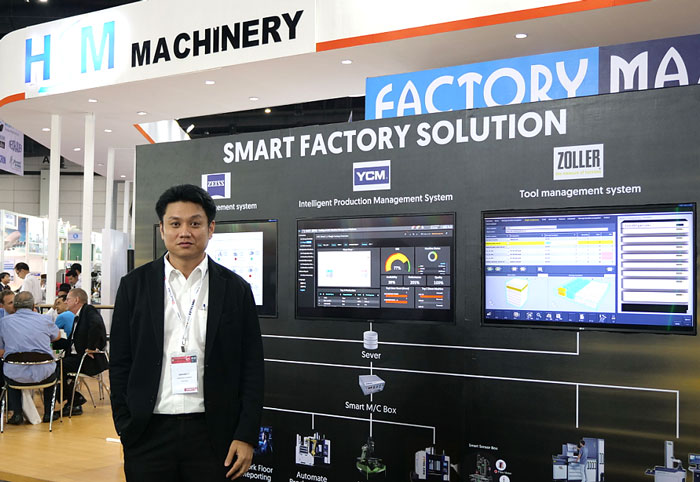 Mr. Siraset Tainmai, Senior Sales Manager - HSM Machinery Co., Ltd.