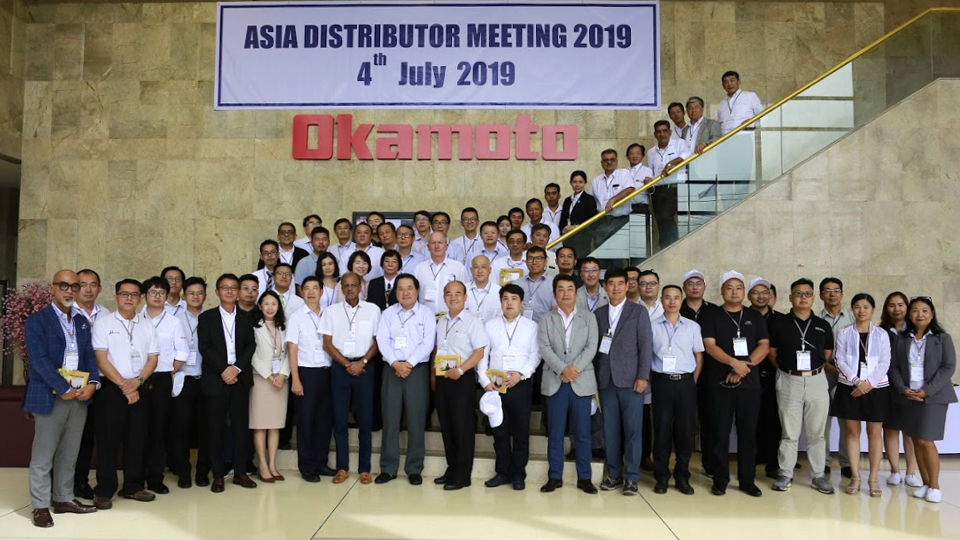 Asia Distributor Meeting 2019 at Okamoto (Thailand) plant