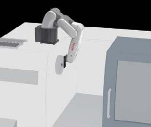 NACHI-MZ01-งานโหลดชิ้นงานเข้าเครื่องจักร