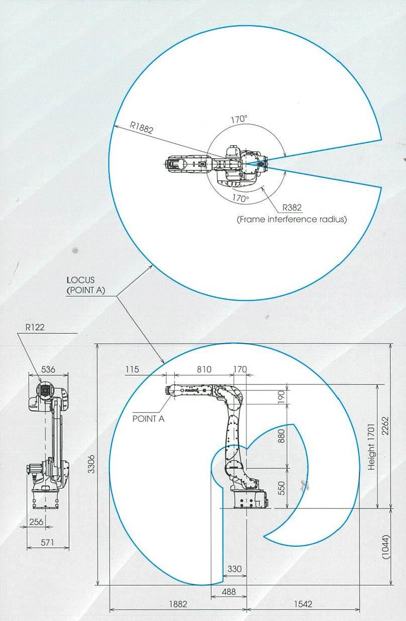 Nachi MZ25, 6-Axis Industrial Robot
