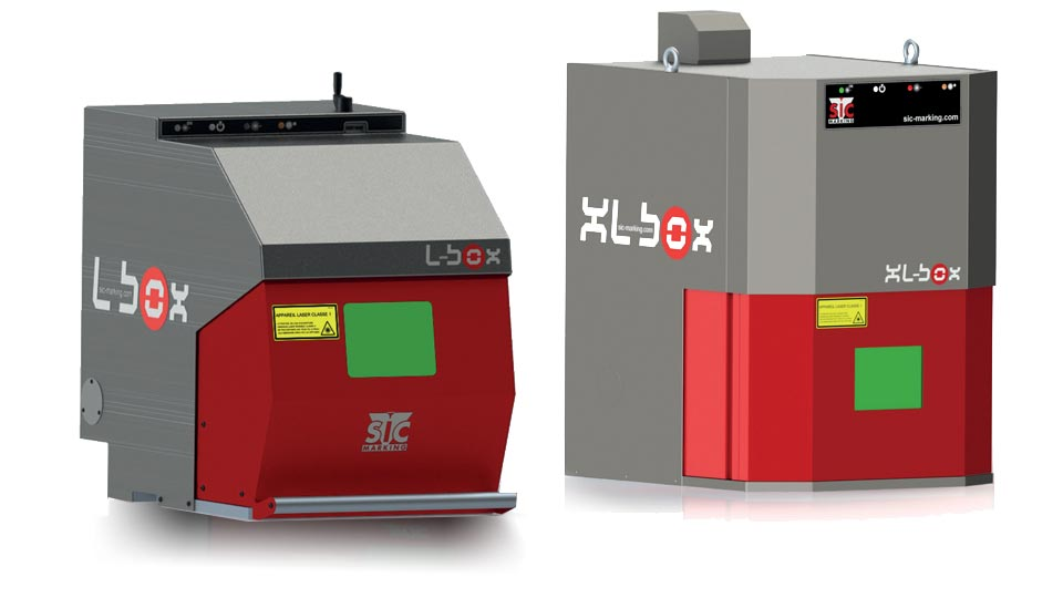 SIC Laser Marking เลเซอร์มาร์คกิ้ง แบบเวิร์กสเตชั่น L-Box และ XL-Box