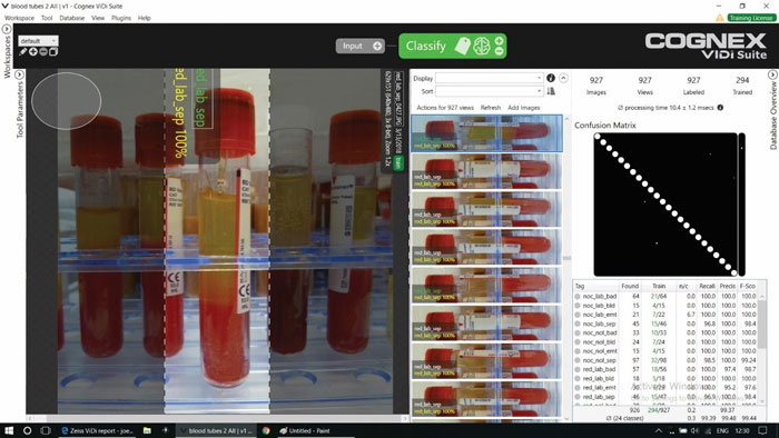 Cognex VisionPro ViDi performs inspection with deep learning-based image analysis